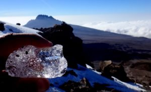 African ice on Mt. Kilimanjaro