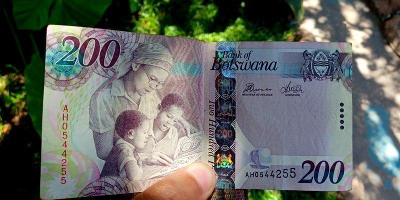 botswana currency bill, Pula