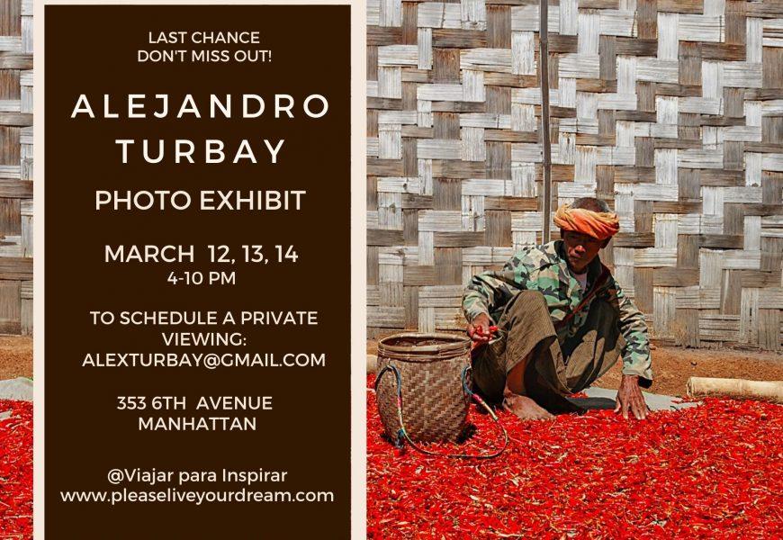 2020 New York City please live your dream photo exhibit